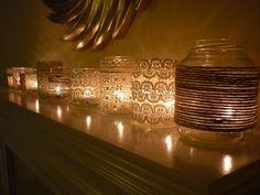 Lampada fai da te artigianato | Riciclare i barattoli: idee creative