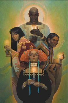 Artists and Artwork – California Art Club Art And Illustration, Fantasy Kunst, Fantasy Art, Thomas Blackshear, Arte Do Kawaii, African American Artist, Wow Art, Art Graphique, Pretty Art