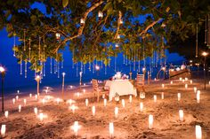 Private Beach BBQ | This looks amazing! | The Sarojin, Thailand | Romantic Travel