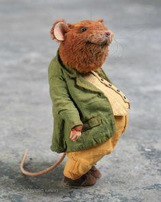 Needle Felted Animals, Felt Animals, Teddy Toys, Hamster, Felt Mouse, Cute Mouse, Bear Doll, Felt Art, Stuffed Toys Patterns
