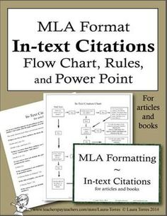 MLA Citation Lecture   Handouts  MLA  th Edition  in text citation     Proper MLA Works Cited Page