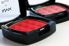 I have this RED NYX blush.  I'm a sucker for red blush.