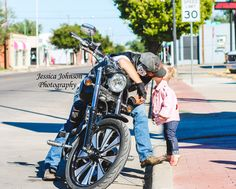 #motorcycleawarness  Father/Daughter Session Jessica Johnson Photography September 2016 Amarillo, TX