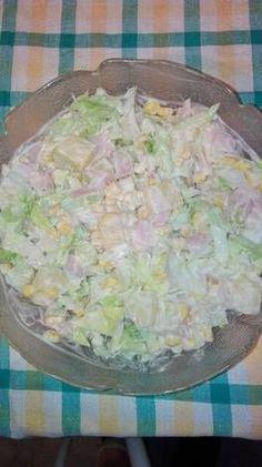 Hawaii saláta, ahogy én készítem