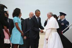 Obama's e Papa Francisco