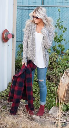 sweaters + flannels