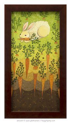 "Susie Ghahremani carrot painting - at Rotofugi: ""LOG CABIN"" http://gallery.rotofugi.com/exhibits/2017-SusieGhahremani/"