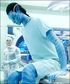 """Pin An avatar (Na'vi name: uniltìrantokx meaning """"dream walker"""") is a genetically engineered body, a Human/Na'vi hybrid, meant to house a human mind. Avatar Films, Avatar Movie, Stephen Lang, Michelle Rodriguez, Movie Memes, I Movie, Movie Scene, Alien Avatar, Avatar James Cameron"""