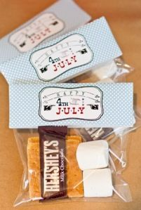 Smores packets - for canada day!