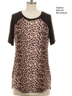 Living on The Edge Leopard Top - Also in Plus Size
