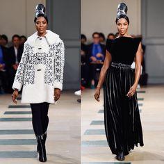 Naomi Campbell Returned to the Catwalk for Azzedine Alaia& Show - EBONY Runway Fashion, Fashion Models, Fashion Show, Fashion Design, Fashion Tips, Fashion Trends, Azzedine Alaia, V Magazine, Fashion Photography