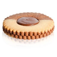Occhio Nero Grande - A vanilla and chocolate shortbread filled with a nutella centre