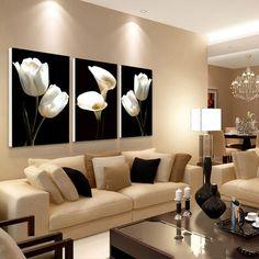 ideas para pintar el salon en dos colores | Decoración del hogar en ...
