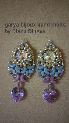 Earrings photo tutorial PDF