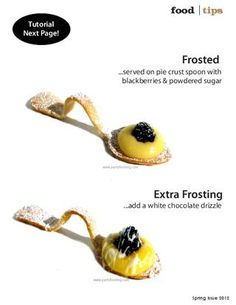 1000 images about edible spoons on pinterest spoons for Edible canape spoons