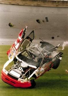 Nascar crashes Nascar crashes – Gallery Related posts:JJ on NASCAR's return: 'Nutty to say the Monster Energy NASCAR Cup Series Paint Schemes - Team Nascar Crash, Nascar Race Cars, Nascar Sprint Cup, Escuderias F1, Nascar Wrecks, Monster Energy Nascar, Drag Racing, Auto Racing, Vintage Racing
