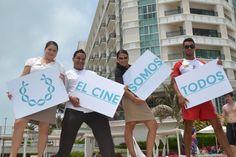 El cine somos todos. Riviera Maya Film Festival 2013. Sandos Hotels & Resorts patrocinadores