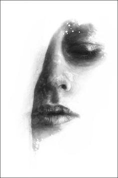 "Kunsttrykk // Poster ""Face III"""