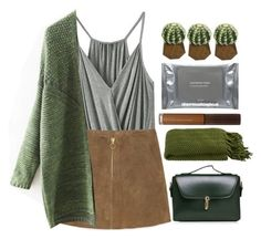 """Untitled #2022"" by credendovides ❤ liked on Polyvore featuring MANGO, Crate and Barrel, Threshold and Dermalogica"