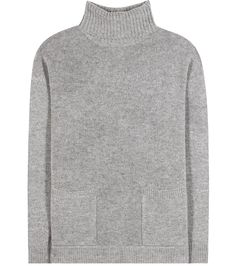 Jardin des Orangers - Turtle virgin wool and cashmere turtleneck sweater - Jardin des Orangers offers a functional twist on a wardrobe classic by outfitting the Turtle sweater with patch pockets in the front. The melange grey piece is knitted from an impeccable blend of virgin wool and cashmere for the cosiest feeling on chilly days. Wear yours with anything from off-duty denim to tailored trousers. seen @ www.mytheresa.com