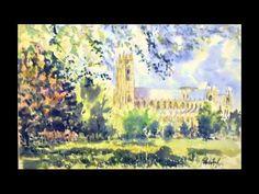 Church of All Saints - Saltfleetby - Watercolour workshop.