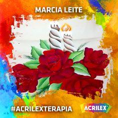 #Acrilexterapia por Marcia Leite