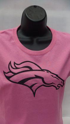 Denver Broncos Super bowl sparkle glitter bling T-shirt