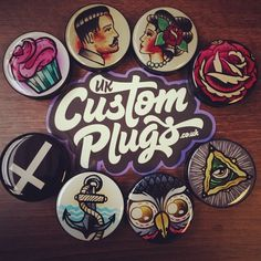 Browse our products online at www.ukcustomplugs.co.uk and take advantage of our free worldwide shipping using the code 'freeship'...