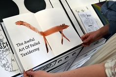 The Awful Art of Failed Taxidermy ILLUSTRATIONS by Milka Steciak, via Behance