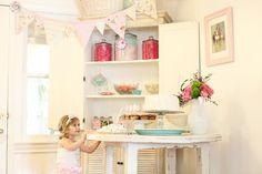 "Photo 1 of 36: ballerina party / Birthday ""A Vintage Ballerina"" | Catch My Party"