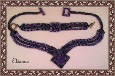 Eldanna Right Angle Weave, Beadwork, Jewelery, Weaving, Handmade Jewelry, Inspiration, Ideas, Beading, Jewlery