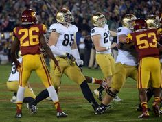 Kyle Brindza hits his third field goal vs USC