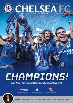 Mag 155 by Chelsea Magazine - issuu Premier Football, Hot Football Fans, Chelsea Football, Chelsea Champions, Gary Cahill, Chelsea Premier League, Chelsea Fc Players, John Terry, Chelsea News