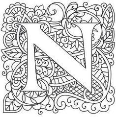 Mendhika Letter N_image