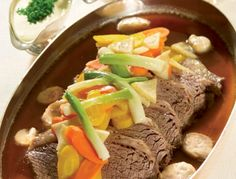 Tafelspitz Recipe - Boiled Beef is a classic Austrian dish