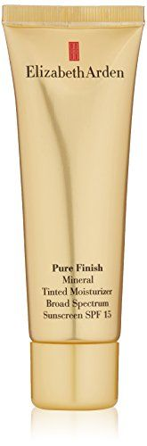 Elizabeth Arden Pure Finish Mineral Tinted Moisturizer SPF 15 Broad Spectrum Sunscreen Medium 17 fl oz -- Read more at the image link. (This is an affiliate link) Broad Spectrum Sunscreen, No Foundation Makeup, Tinted Moisturizer, Luxury Beauty, Pure Products, Beauty Products, Minerals, Vitamins, It Is Finished