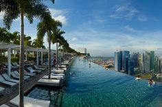 The Marina Bay Sands Hotel In Singapore