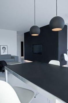 Minimalistic Penthouse in Copenhagen