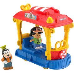 Fisher-Price Little People Disney Jolly Trolly