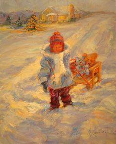 Diane Leonard ~ Christmas Snow