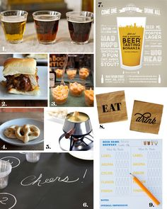 Love & Lace: Beer Tasting Party Inspiration #beer