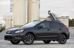 2013 Subaru XV Crosstrek black