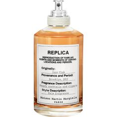 Margiela JAZZ CLUB $110 The balmy base scent of musk added to vanilla, tonka bean, vetiver and tobacco leaves combine to reproduce a familiar moment, yet hidden memory