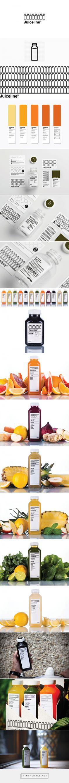 Juiceline packaging design by Kissmiklos (Hungary)…