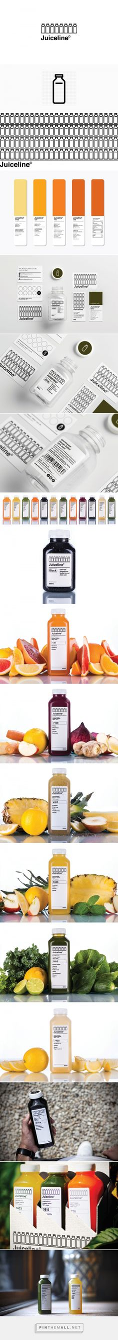 Juiceline packaging design by Kissmiklos (Hungary) - http://www.packagingoftheworld.com/2016/09/juiceline.html