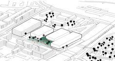 architecture site diagram _ In Between Museum Berlin Natuarl Science Museum / NAS Architecture
