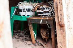 Mifuko Kiondo baskets in making.