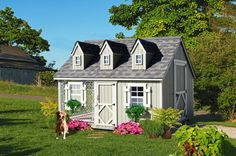 Doowaggle  - 8' x 10' Luxury Dog House Kit  (Cape Cod Model), $3,399.00 (http://www.doowaggle.com/8-x-10-luxury-dog-house-kit-cape-cod-model/)