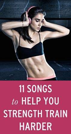 "A strength training playlist full of songs that songs fall into the musical ""sweet spot"" to keep you pushing through no matter how many reps you're banging out. via @Bustle.com"