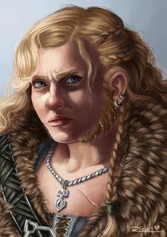 Tarin Portrait by RachelleFryatt.deviantart.com on @deviantART